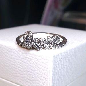 New Pandora Signature of LOVE Ring